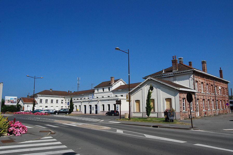 Hirson Railway Station
