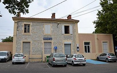 Comment aller à Gare De Montfavet en transport en commun , A propos de cet  endroit