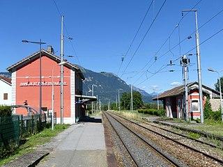 Saint-Pierre-en-Faucigny station