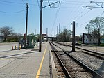 Gary Chicago Airport at Clark Road station (26580083611).jpg
