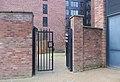 Gate into the garden of 54 St James Street, Liverpool.jpg