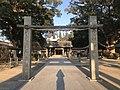 Gate of Umi Hachiman Shrine.jpg