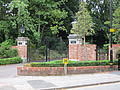 Gates of St Anne's Gardens, Altrincham.JPG