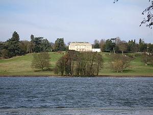 Gatton Park - Gatton Hall surrounded by Gatton Park