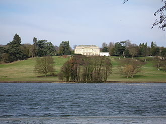 Gatton Park - Gatton Hall surrounded by Gatton Park
