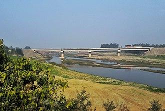 Gaula River (India) - Image: Gaula Bareilly