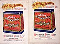 Gear Meat Preserving and Freezing Company Ltd -Wholesale price list, January 1905; (and) Wholesale price list, November 1902. (Covers). (21499850978).jpg