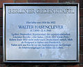 Gedenktafel Ludwig-Barnay-Platz 3 (Wilmd) Walther Hasenclever.JPG