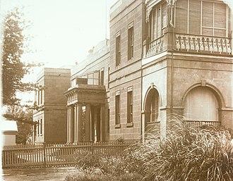 Geelong Hospital - Geelong Hospital in 1921.