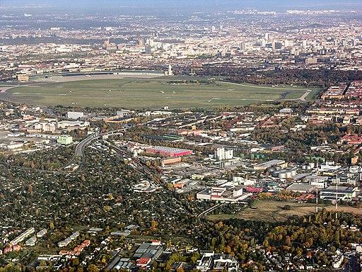 Gegenanflug Tempelhof