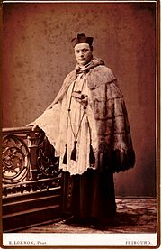 Geistlicher im Pelz