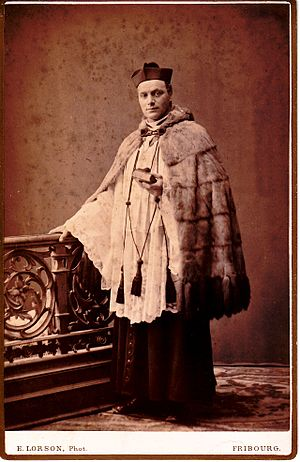 Almuce - Almuce, worn by a Roman Catholic priest, Fribourg, c. 1900