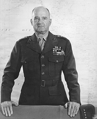 Alexander Vandegrift - Vandegrift as Commandant of the Marine Corps.
