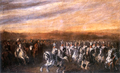 General Dwernicki conducting Polish Uhlans.PNG