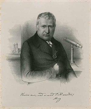 Georg Merz - portrait of Georg Merz