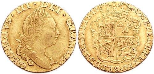 George III Half-Guinea 764023