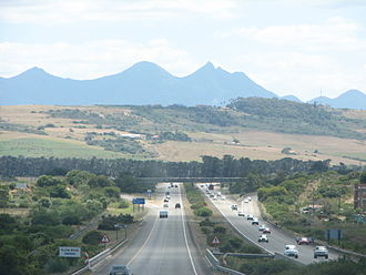 N2 (South Africa) - N2 Freeway between George and Mossel Bay