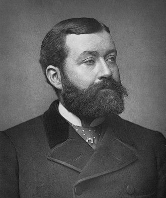 George Robert Sims - Sims in 1884