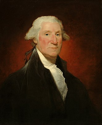 Samuel Vaughan - George Washington, the Vaughan Portrait (1795)