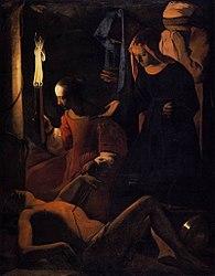 Georges de La Tour: Saint Sebastian Attended by Saint Irene