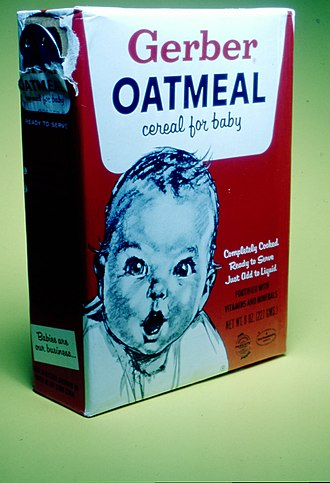 Gerber Products Company - Image: Gerber oatmeal