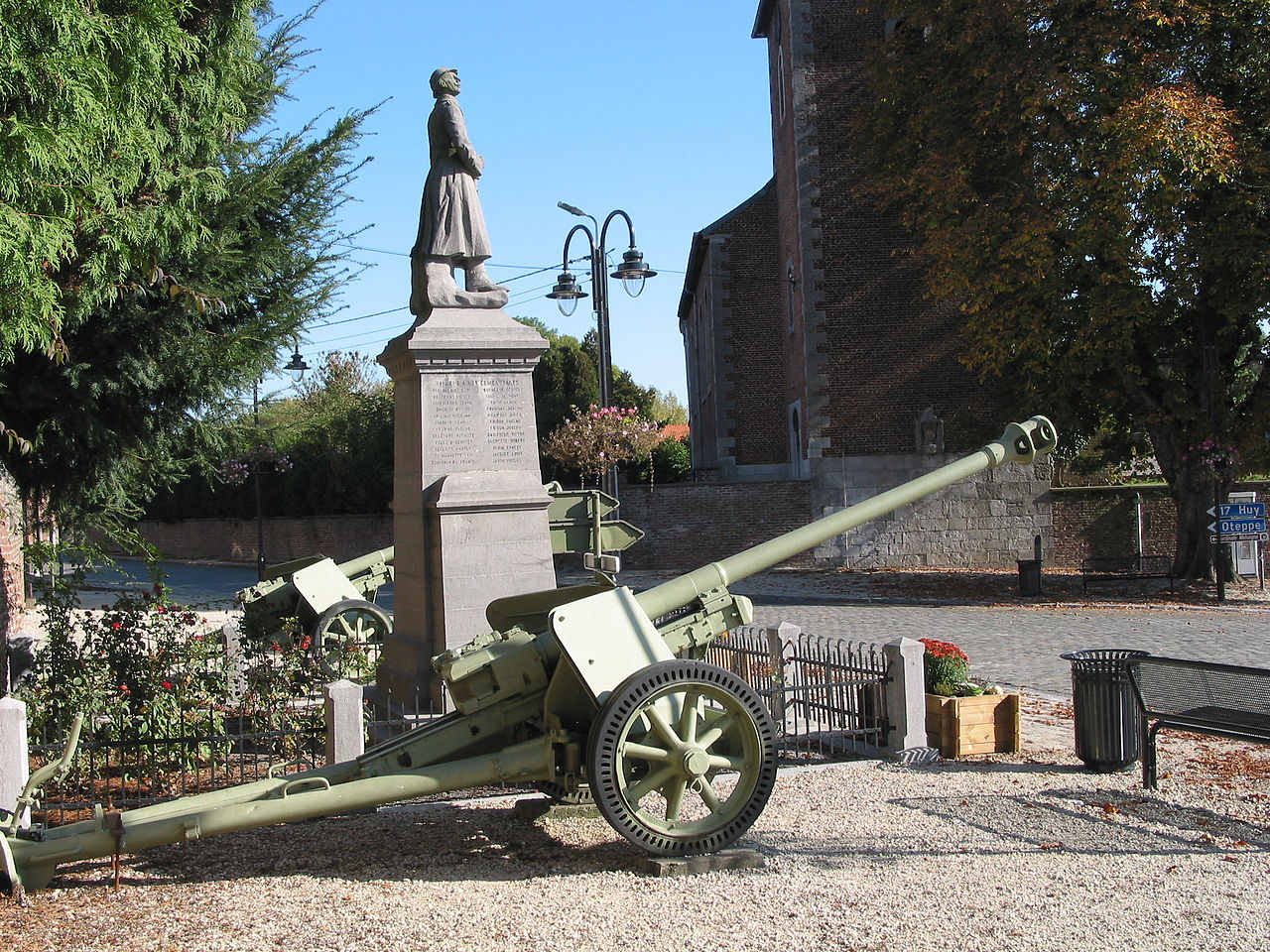 German 50 Mm Anti Tank Gun: File:German 7.5 Cm PaK 40 Anti-tank Guns In Burdinne.jpg