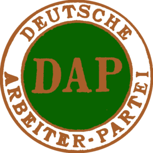 German Workers' Party - Logo of the German Workers' Party