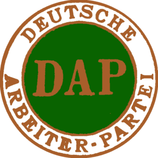 German Workers Party predecessor of the Nazi Party