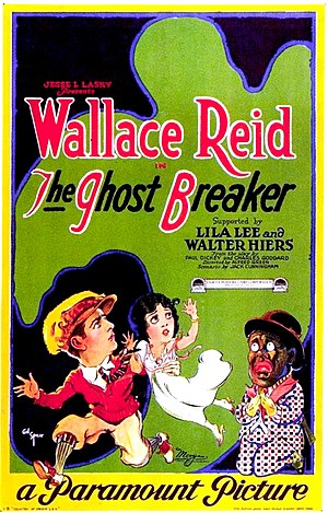 The Ghost Breaker (1922 film) - Film poster