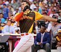 Giancarlo Stanton competes in semis of '16 T-Mobile -HRDerby. (27957564204).jpg