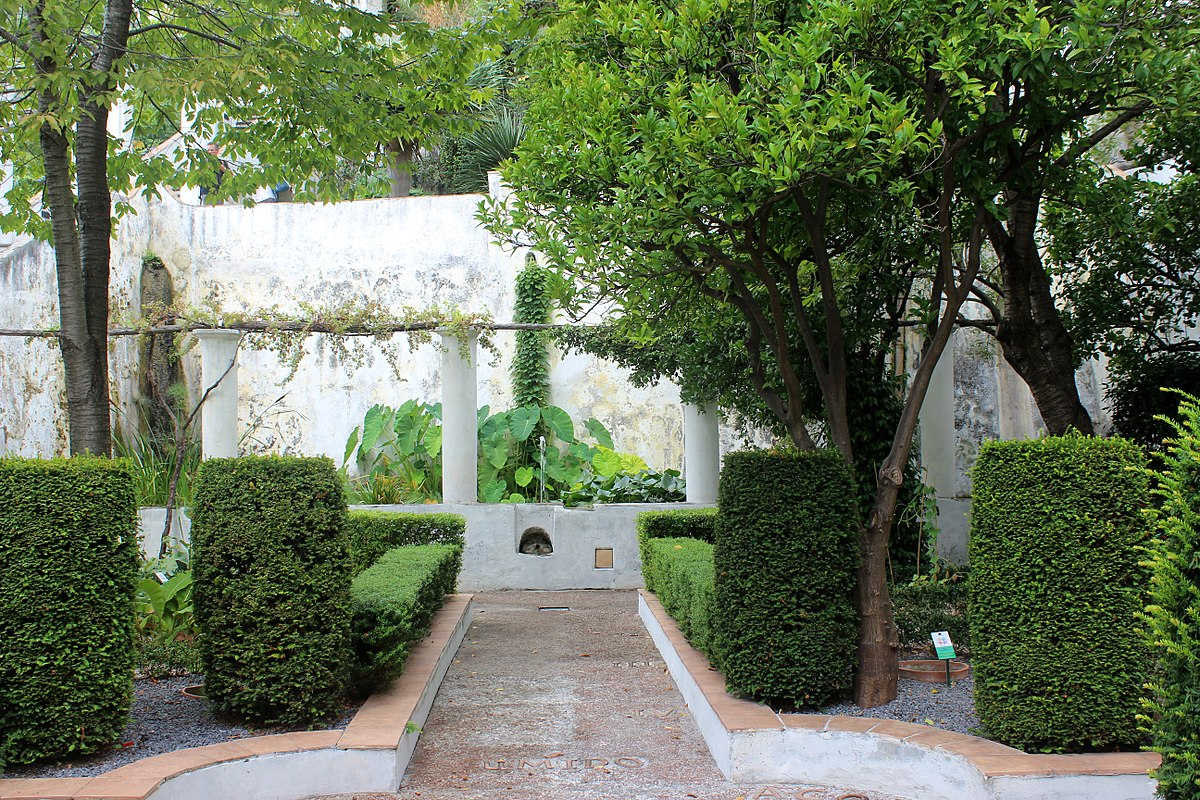 Jardim da Minerva, Salerno, sul da Itália
