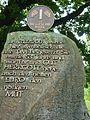 Gifhorn - Gedenkstein für die DM im Mühlenmuseum.JPG