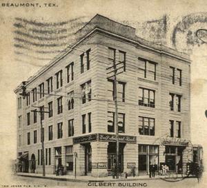 Gilbert Building (Beaumont, Texas) - Image: Gilbert Building