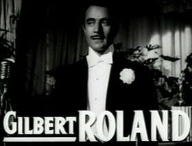 affiche Gilbert Roland