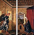 Giovanni Bellini - Angel of the Annunciation and Virgin Annunciate - WGA1744.jpg