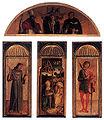 Giovanni bellini e altri, trittico della natività.jpg