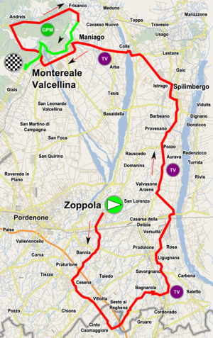 2017 Giro d'Italia Femminile - Image: Girodonne 2017 stage 2