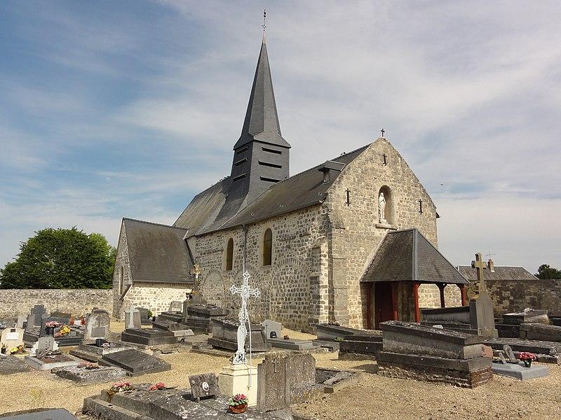 Gizy (Aisne) église