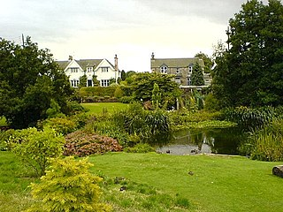 Glenfarg village in the United Kingdom
