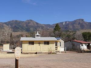 Glenwood, New Mexico - Santo Niño church