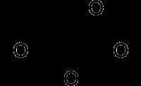 Strukturformel von Glycerinsäure