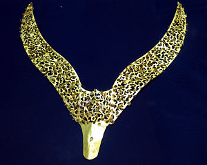 Silla - Gold ornament from early Silla.