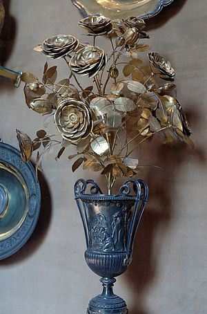 Golden Rose - Golden Rose from the Vatican Library.
