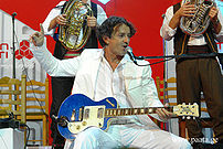 Goran Bregović in Tbilisi, Georgia. October 3, 2007.