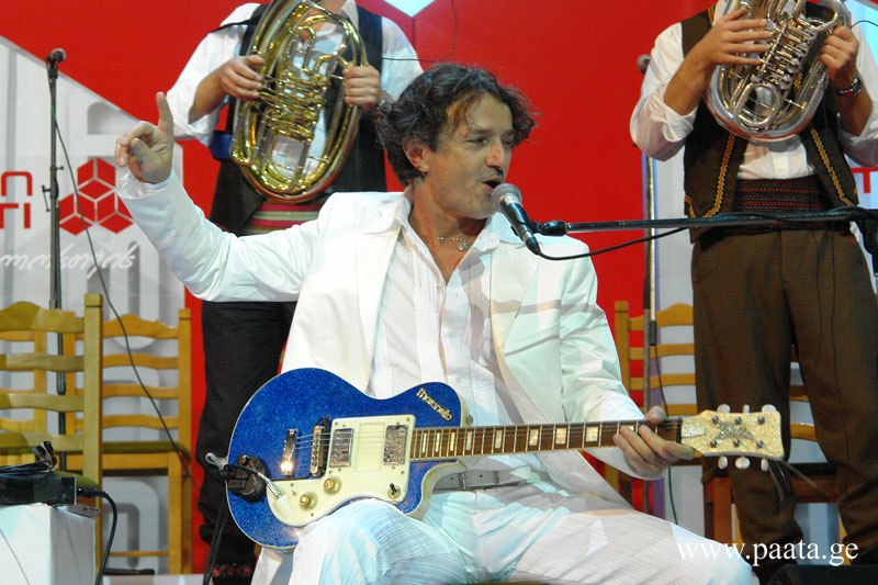 Goran Bregovic in Tbilisi, Georgia