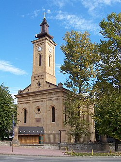Gornji Milanovac Holy Trinity church.jpg