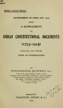 Government of India Act 1915 (Annotated).djvu