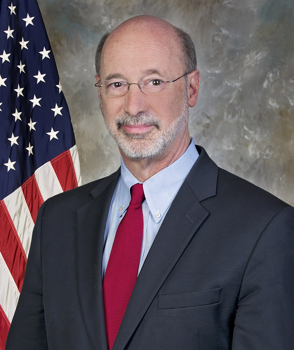 Governor Tom Wolf official portrait 2015