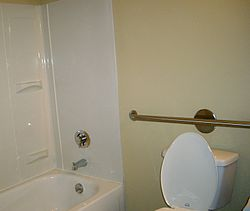 grab bar  wikipedia, Bathroom decor