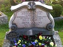 Grabmal von Harry J. Collins auf dem Petersfriedhof in Salzburg.jpg
